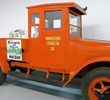Old Orange Truck, by MaeBelle
