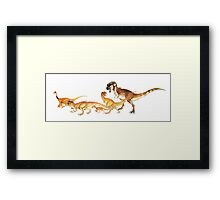 theropods ltd. Framed Print