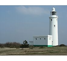 White Lighthouse, Hurst Castle  Photographic Print