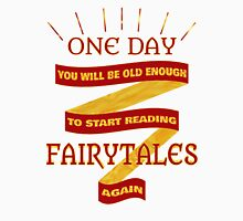 Reading Fairytales Womens Fitted T-Shirt
