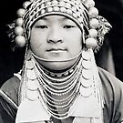Akha maiden, Thailand by John Spies