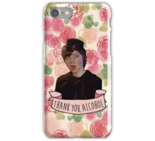 "Janet Snakehole ""Thank You, Alcohol"" phone case iPhone Case/Skin"