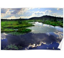 INLET TO RAQUETTE LAKE Poster