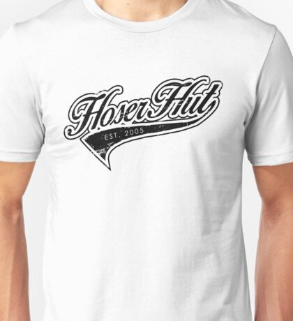Hoser Hut_Black Unisex T-Shirt