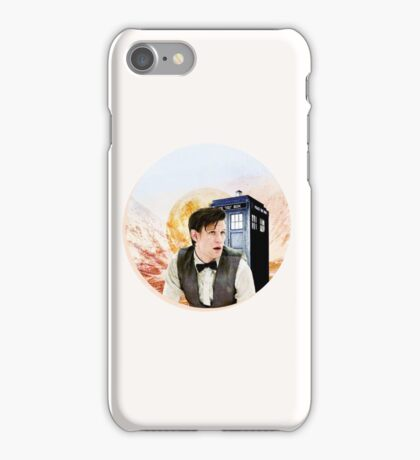 Doctor Who Eleventh Doctor Circle Graphic iPhone Case/Skin
