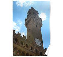 Florence Clocktower Poster