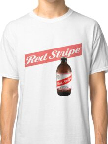 Red Stripe  Classic T-Shirt