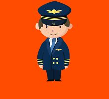Cute Pilot Design Unisex T-Shirt
