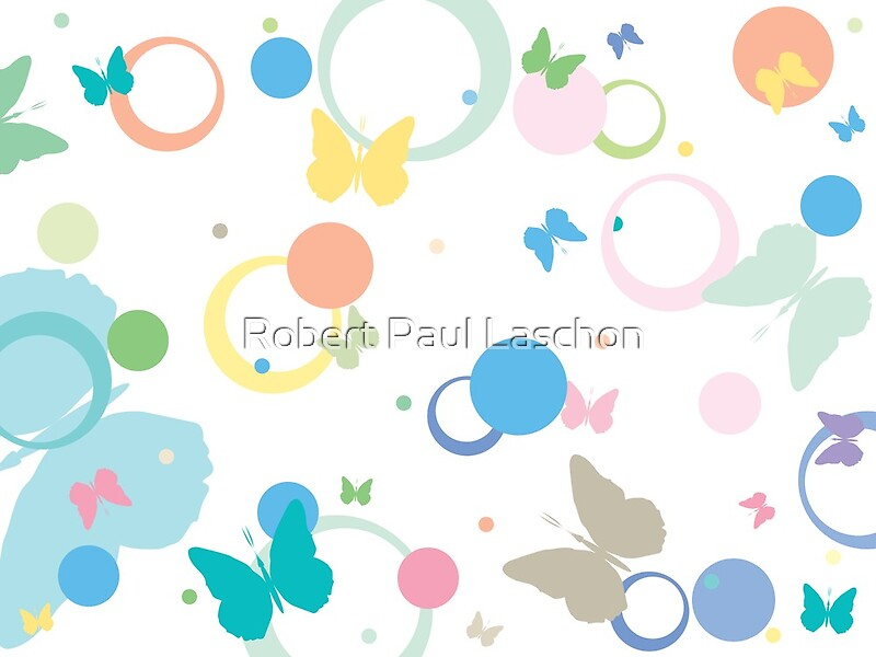 Butterflies And Bubbles By Laschon Robert Paul Redbubble