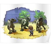 Raptor Wrangler Poster