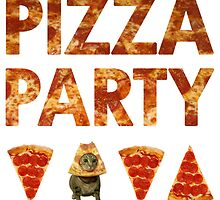 Pizza Party with Cats! by Shonuff  Studio