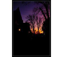 Dark Warmth Photographic Print