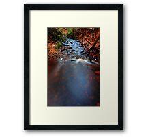 """""""Erosion"""" Framed Print"""