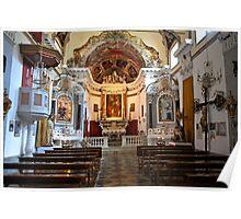 Monterosso Chapel Poster