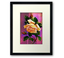 The Queen of flowers......... Framed Print