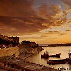 Gand Harbour Valletta by Edgar023