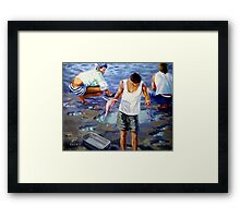 Catch of the Day, Ten Years Later Framed Print