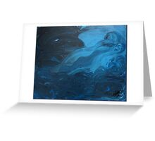 Shadows in the Depths Greeting Card