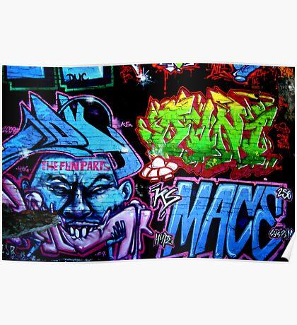 Graffiti Haze 2 Poster