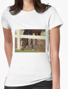 SEVEN LEGGED HORSE Womens Fitted T-Shirt