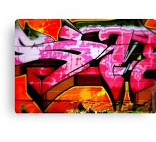 Graffiti Daze Canvas Print