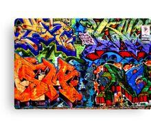 Graffiti Daze 2 Canvas Print