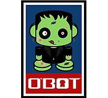 Zombie Franko'bot 1.1 Photographic Print