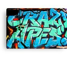 Graffiti Craze 1 Canvas Print