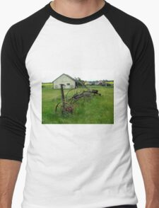 OLD FARM EQUIPMENT Men's Baseball ¾ T-Shirt