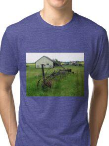 OLD FARM EQUIPMENT Tri-blend T-Shirt