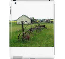 OLD FARM EQUIPMENT iPad Case/Skin