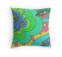Peaceful Nature Throw Pillow