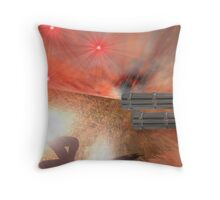 """""""There is no such thing a a bloodless coup..."""" Throw Pillow"""
