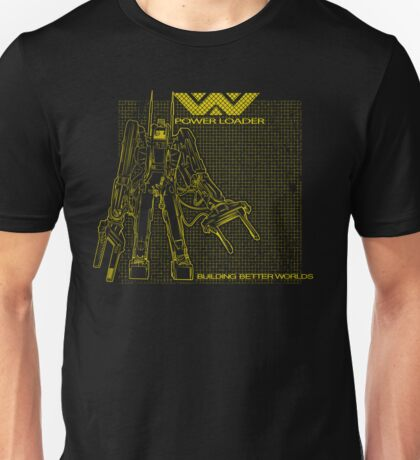 Powerloader Blueprint (yellow) Unisex T-Shirt