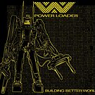 Powerloader Blueprint (yellow) by buzatron