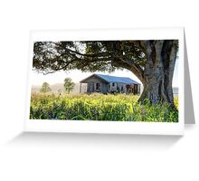 The Old Dairy Shed - Mulgildie Plateau, Tellebang, Queensland, Australia Greeting Card