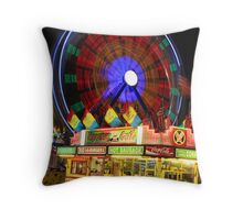 Carnival Bench Throw Pillow