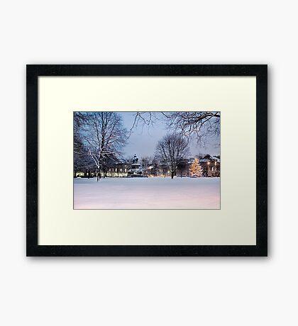 Charlotte Square I Framed Print