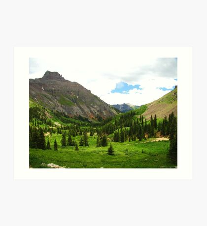 Yankee Boy Basin Art Print