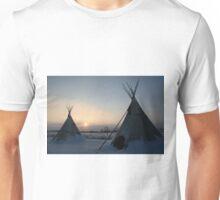 PLAINS CREE TIPI Unisex T-Shirt