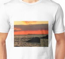 OMINOUS CLOUDS ON LAKE WINNIPEG Unisex T-Shirt