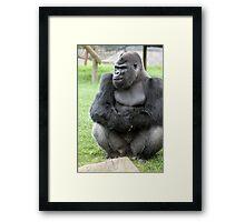 big man Framed Print