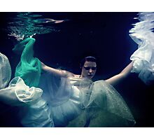 Breaking out and floating free Photographic Print