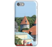 Rooftops Near the Baltic iPhone Case/Skin