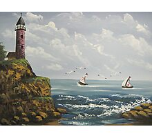 Out to Sea Photographic Print