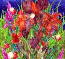 Night Garden by Rebecca Tripp