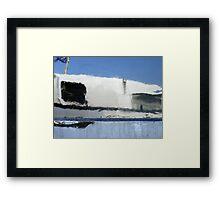 Shipside mirror (1) Framed Print