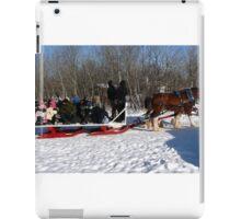 Family Sleigh Ride iPad Case/Skin
