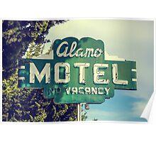Alamo Hotel Poster