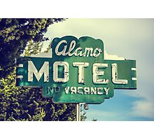 Alamo Hotel Photographic Print